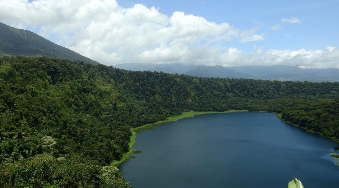 A scenic view of Costa Rica.